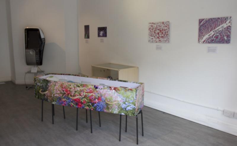 Digital legacy art exhibition